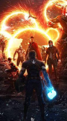 Doctor Strange's Magic - Avengers Endgame Marvel Comics, Marvel Films, Marvel Art, Marvel Heroes, Marvel Avengers, Asgard Marvel, Avengers Movies, Marvel Universe, Captain America Wallpaper