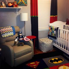 Superhero nursery...