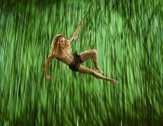 Alexander Klaws als Tarzan Disneys Musical Tarzan im Stage Theater Neue Flora in Hamburg. #Tarzan #Musical #Disney #Hamburg #Theater #Neue #Flora #Alexander #Klaws #Stage #Entertainment #StageEntertainment #Show