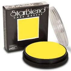 Mehron Starblend Cake Makeup  Yellow Y 2 oz -- Click on the image for additional details. Note: It's an affiliate link to Amazon
