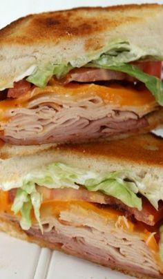 Copycat Applebee's Clubhouse Grille Sandwich Applebee's Clubhouse Grille Sandwich Copycat Recipe Hummus Sandwich, Panini Sandwiches, Grilled Sandwich, Best Sandwich, Soup And Sandwich, Wrap Sandwiches, Vegan Sandwiches, Chicken Sandwich, Panini Recipes
