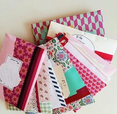 beautiful envelopes