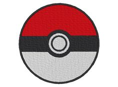 Who doesnt love Pokemon. This design is embroidered and then made into an iron on patch. It can be made in different sizes and colors per your