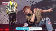 #Edawn 's expression! Great live performance by #Pentagon #Shine #ShowChampion April 25, 2018