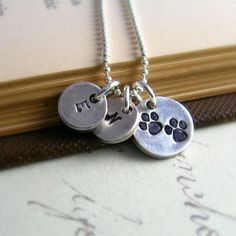 Pet Owner Necklace Silver Dog Necklace