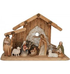 Nativity 2 - Carved Wood
