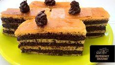 Paleo dobostorta recept (szénhidrátszegény, gluténmentes, tejmentes, cukormentes) ~ Éhezésmentes Karcsúság Szafival