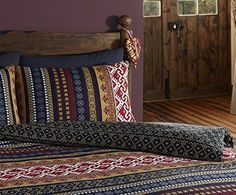 De cama Ethnic Indian Print Bedding - Quilt Cover Bed Set With Pillow Cases (double), Multi: Amazon.co.uk: Kitchen & Home