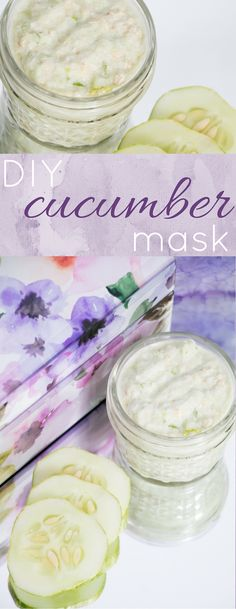 Insane! Did you know that cucumber can do all of this for your skin? Cucumber is not only a super food for your insides, but it's great for your skin too. I'm going to try this DIY cucumber mask soon! I love DIY face masks.