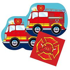Your party table will be smokin' with this Fire Truck Shaped Plate Pack! Your guests will love the way you decorate your event with this cool tableware collection. You'll find everything you need to complete your firefighter-themed party in this exciting pack. Here's what's... - http://kitchen-dining.bestselleroutlet.net/product-review-for-fire-truck-shaped-plate-napkin-sets-for-16-guests/