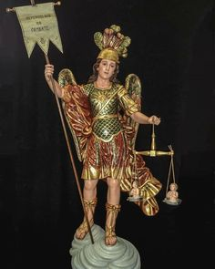 Kunst Online, Archangel Michael, Celestial, St Michael, Bolivia, Colonial, Catholic, Dresses, Fashion
