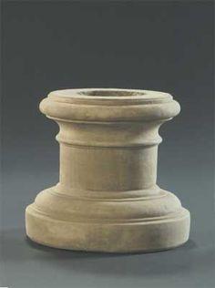 Column Pedestal, Plain