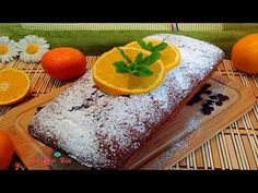 RECETA: CAKE-QUEQUE-BIZCOCHO DE YOGUR, NARANJA Y CHIPS DE CHOCOLATE | Be...