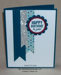 #Happy Birthday to You! Stampin' Up! cards ... click for instructions :)