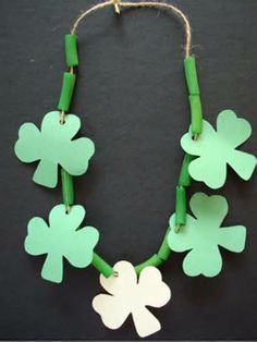 Cute craft necklace