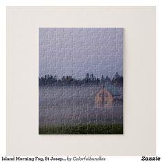 Island Morning Fog, St Joseph Island
