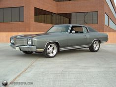 """1970 Chevy Monte Carlo. Reminds me of my mom's MC """"Lizzy"""""""