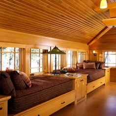 craftsman bedroom by David Heide Design Studio