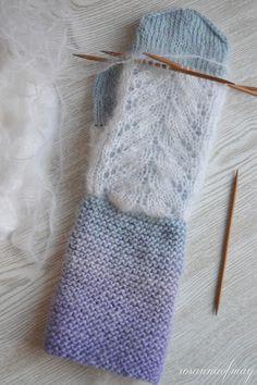 Vogue Knitting, Knitting Books, Knitting Stitches, Knitting Projects, Knitting Patterns, Knitted Mittens Pattern, Crochet Mittens, Knit Or Crochet, Quick Knits