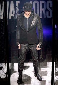 Philipp Plein • MMU FW 2015/2016 • Camera Nazionale della Moda Italiana Mens Fall, Fall Winter 2015, Leather Jacket, Jackets, Fashion, Italian Fashion, Studded Leather Jacket, Down Jackets, Moda