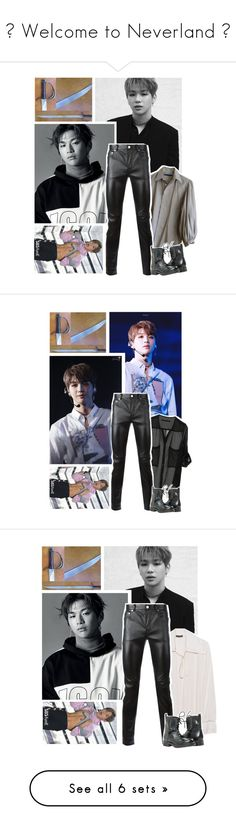 """🌿 Welcome to Neverland 🌿"" by parkchim95 ❤ liked on Polyvore featuring Ralph Lauren, Yves Saint Laurent, men's fashion, menswear, Plein Sud, Nobody Denim and beauty"