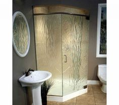 Furniture Bathroom Cool Frosted Glass Shower Doors Custom