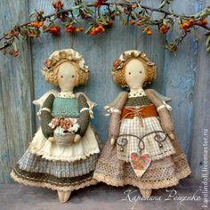 Ароматизированные куклы ручной работы. Ярмарка Мастеров - ручная работа Подружки из Кэндлфорда. Handmade.