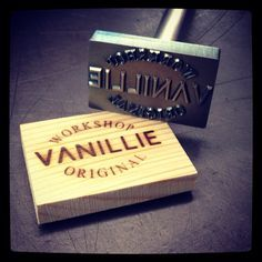 personalized branding iron for wood - Google Search