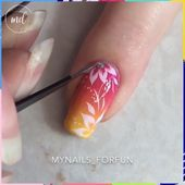 Summer Nail Art 640848221958687539 - Cute and easy nail designs By: Mynails_forfun Source by Shellac Nails, Diy Nails, Acrylic Nails, Stiletto Nails, Manicures, Coffin Nails, Nail Art Designs, Simple Nail Designs, Romantic Nails