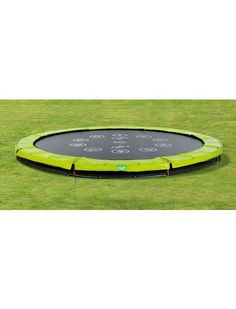 Trampolin »EXIT Twist Ground«, ø 366 cm Grün/Grau