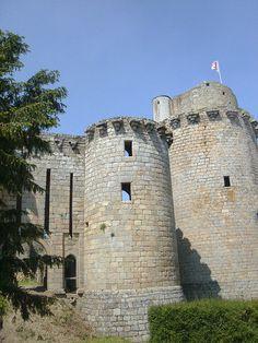 Château de Tonquedec , bretagne