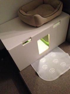 STUVA litterbox for 4 kitties - IKEA Hackers