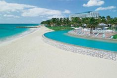Travel Guide to Freeport and Grand Bahama Island in the Bahamas: Beach at the Our Lucaya Resort