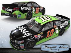 Danica Patrick in the Stewart-Haas Racing No. 10 Chevrolet