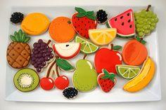 Fruit Platter by SweetSugarBelle, via Flickr