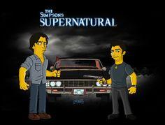 Supernatural (Simpson style)