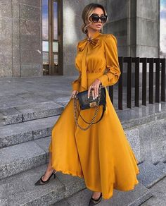 30 Beautiful and Modest Dresses for Elegant Ladies — Classy Outfit Ideas Elegant Dresses Classy, Elegant Outfit, Classy Dress, Classy Outfits, Elegant Dresses For Women, Chic Dress, Modest Dresses, Cute Dresses, Casual Dresses
