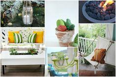 Lassen Sie sich von unseren Bastelideen inspirieren und zieren sie Ihre Terrasse