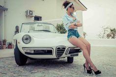 Alfa Romeo, coches y... chicas. in Alfistas