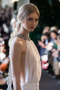 Nastya Kusakina in Stéphane Rolland Haute Couture S/S 2016