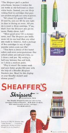 Pen Vintage Ads