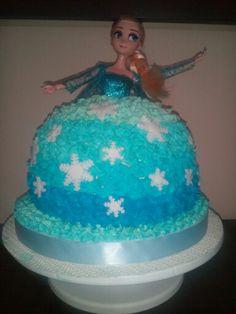 Torta de Elsa de Frozen