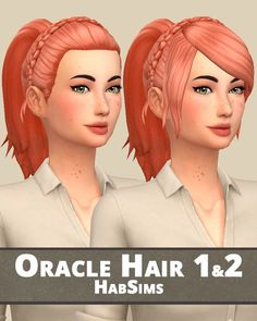Hello! It's the Ponytail hair Dump today! All are recolored in the Naturally Palette. They are all in the same file, download it and choose the hair(s) you want ;) • Base Game Compatible expect Olivia...