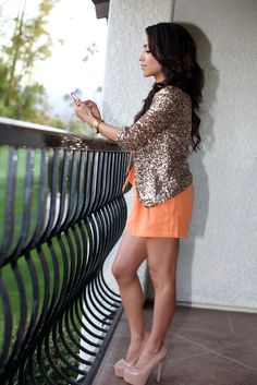 love the blazer over the dress.. and great shoes!!