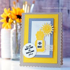 Just for You Card by Wanda Guess for Papertrey Ink (December 2017)