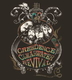Reverbcity Shop - Camisetas/T-shirts Creedence Clearwater Revival
