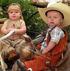 Couple costumes for toddlers so precious.