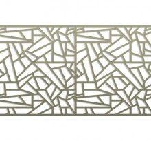 Pattern Library | Bok Modern C28 railing, fences gates, metal panels bokmodern architecture wallscreens greenscreens, architectural metal systems, laser cut metal, guardrails, sunshade, canopies, sun screens, juliet balconies, rainscreen