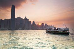 star ferry, hong kong harbour