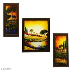 Checkout this latest Paintings_1000-1500 Product Name: *Amazing Wall Paintings Pack Of 3* Material: Wood & Plastic Size: Frame 1 (L x W) - 12.5 inch x 5.2 inch Frame 2 (L x W) - 9.5 inch x 12.5 inch Frame 3 (L x W) - 12.5 inch x 5.2 inch  Description: It Has 3 Pieces Of Frames With Painting (Glass Is Not Included) Work: Printed Country of Origin: India Easy Returns Available In Case Of Any Issue   Catalog Rating: ★4.3 (196)  Catalog Name: Spiritual Wall Paintings Vol 7 CatalogID_35689 C127-SC1611 Code: 333-336453-2301